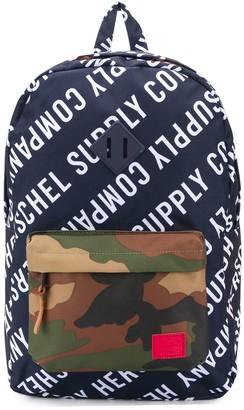 Herschel Heritage colour-block backpack