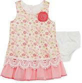Bonnie Jean Sleeveless Drop Waist Dress - Baby Girls 3m-24m