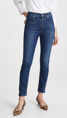 AGOLDE Nico High Rise Slim Jeans