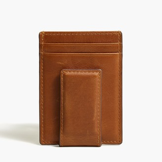 J.Crew Leather money clip