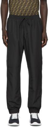 Fendi Black Micro Forever Piping Lounge Pants