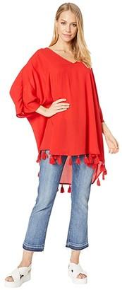 Show Me Your Mumu Shook Tassel Tunic (Bonfire) Women's Dress