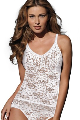 Bali Women's Shapewear Lace 'N Smooth Cami - White - X-Large