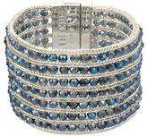Kenneth Cole New York Blue Beaded Bracelet