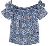 Aqua Girls' Off the Shoulder Top, Big Kid - 100% Exclusive