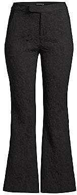 Josie Natori Women's Textured Kick Flare Pants