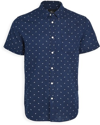 Rails Short Sleeve Carson Print Shirt