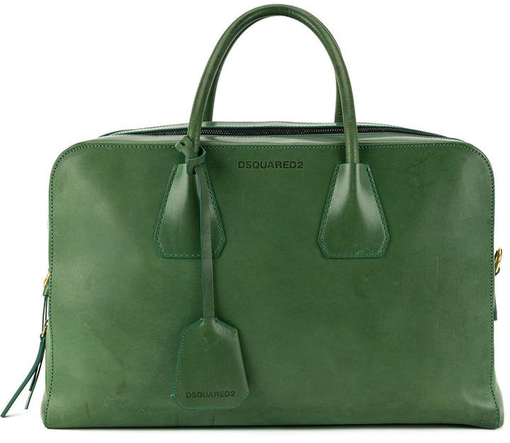 DSQUARED2 double zip tote bag