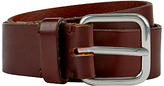 Jaeger Leather Belt, Brown
