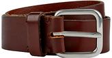 Jaeger Leather Belt, Brown
