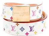 Louis Vuitton Multicolore Monogram Belt