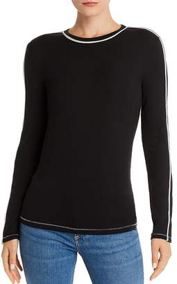 Rag & Bone Sporty Slim Piped Tee