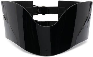 Philipp Plein Corset Leather Belt