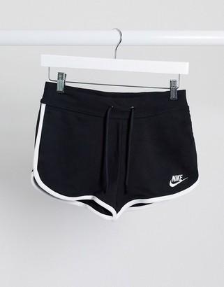 Nike runner shorts in black