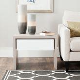 Safavieh Jonco Side Table in Grey/White