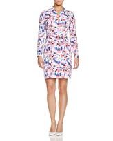 NYDJ Kelsie Geometric Print Dress