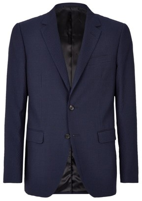 Lanvin Wool Check Jacket