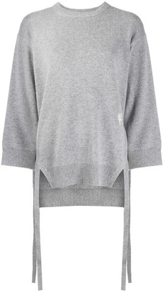 Chloé side-tie loose-fit sweater