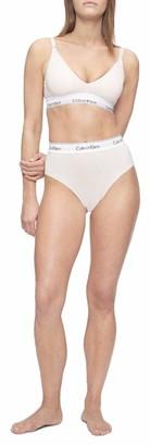 Calvin Klein Women's Modern Cotton Maternity High Waisted Bikini Panties