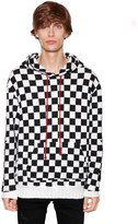 Amiri Checkered Cotton Sweatshirt W/ Stars