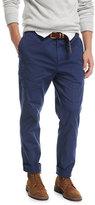 Brunello Cucinelli Leisure-Fit Cargo Pants, Dark Blue