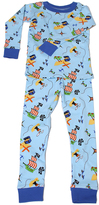 New Jammies Blue Treasure Map Organic Pajama Set - Infant & Boys