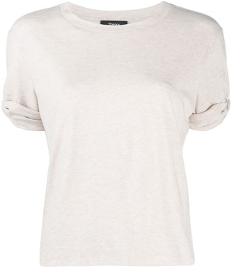 Theory rolled up sleeves T-shirt