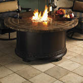 Tommy Bahama Outdoor Kingstown Sedona Steel Natural Gas Fire Pit Table
