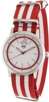 Unbranded Alabama Crimson Tide Striped Nato Strap Watch