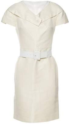 Christian Dior Ecru Cotton Dresses