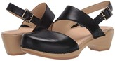 Dansko Kristy (Black Burnished Calf) Women's Shoes