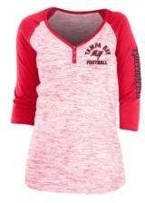 5th & Ocean Tampa Bay Buccaneers Women's Spacedye T-Shirt