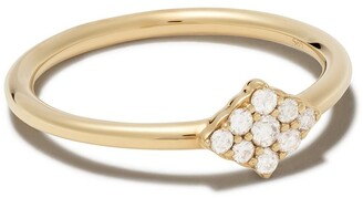 Astley Clarke 14kt yellow gold Interstellar cluster diamond ring