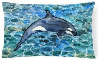 Orca Latitude Run Claredon Killer Whale Lumbar Pillow Latitude Run