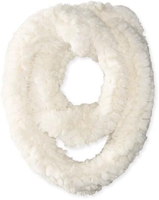 La Fiorentina Women's Faux Fur Infinity Scarf