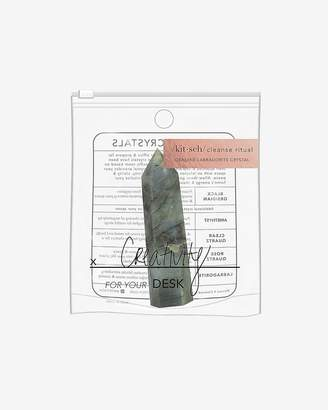 Express Kitsch Laboradorite Desk Healing Crystal