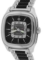 david yurman t306dst stainless steel black dial automatic 42mm mens watch