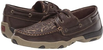 Twisted X WDM0070 (Brown/Embossed Flower) Women's Shoes