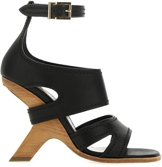 Alexander McQueen No.13 Wedged Sandals