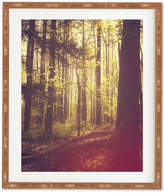 Deny Designs Olivia St Claire She Experienced Heaven On Earth Among The Trees Bamboo Framed Wall Art