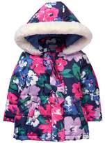 Gymboree Floral Puffer Jacket