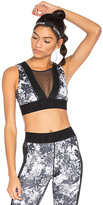 Ivy Park Floral Story Sports Bra Monochrome in Gray. - size XS (also in )