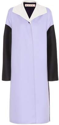 Marni Wool, alpaca and cashmere coat