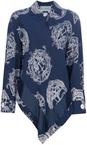 Gianfranco Ferre Vintage anchor print shirt