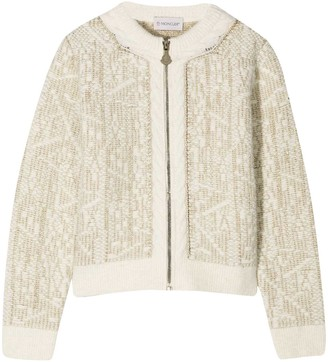Moncler Ivory Sweater