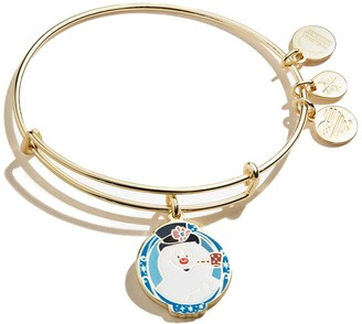 Alex and Ani Frosty the Snowman Expandable Wire Bangle Bracelet