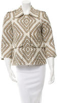 Tory Burch Three-Quarter Sleeve Casual Jacket