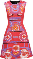 Peter Pilotto Nova intarsia-knit mini dress