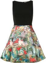 Alice + Olivia Alice+Olivia - Roman Holiday dress - women - Nylon/Spandex/Elastane/Polyester - 4