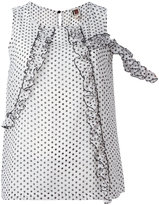 I'M Isola Marras polka dot blouse - women - Polyester - 40